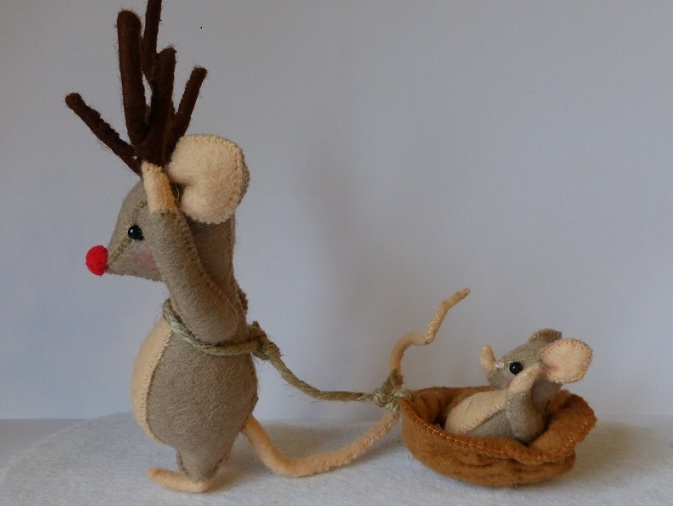 Rudolph, Maus mit roter Nase